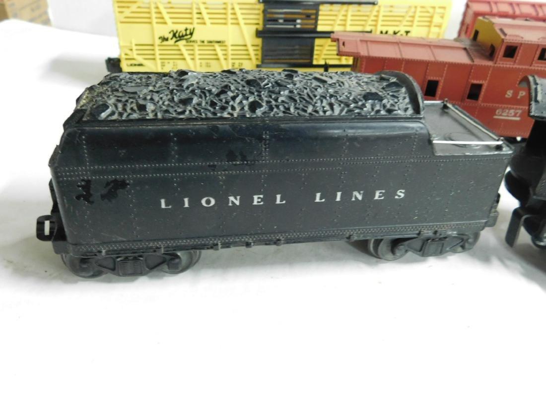 """Lionel """"O"""" Gauge Locomotive, Tender & Cars - 5"""