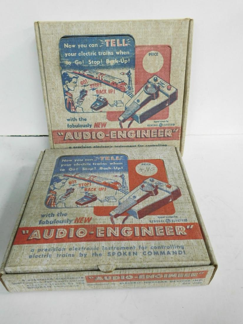 2 Audio Engineer Train Controllers in Boxes