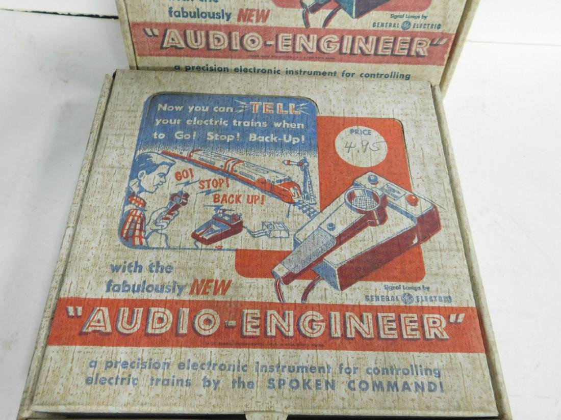 2 Audio Engineer Train Controllers in Boxes - 2