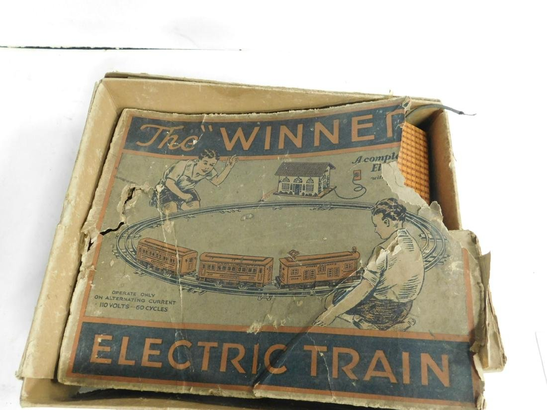 Vintage Winner Lines Train Set in Box