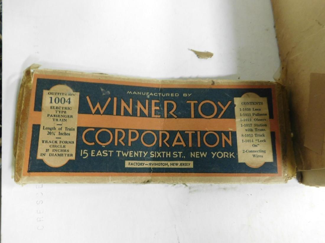 Vintage Winner Lines Train Set in Box - 2