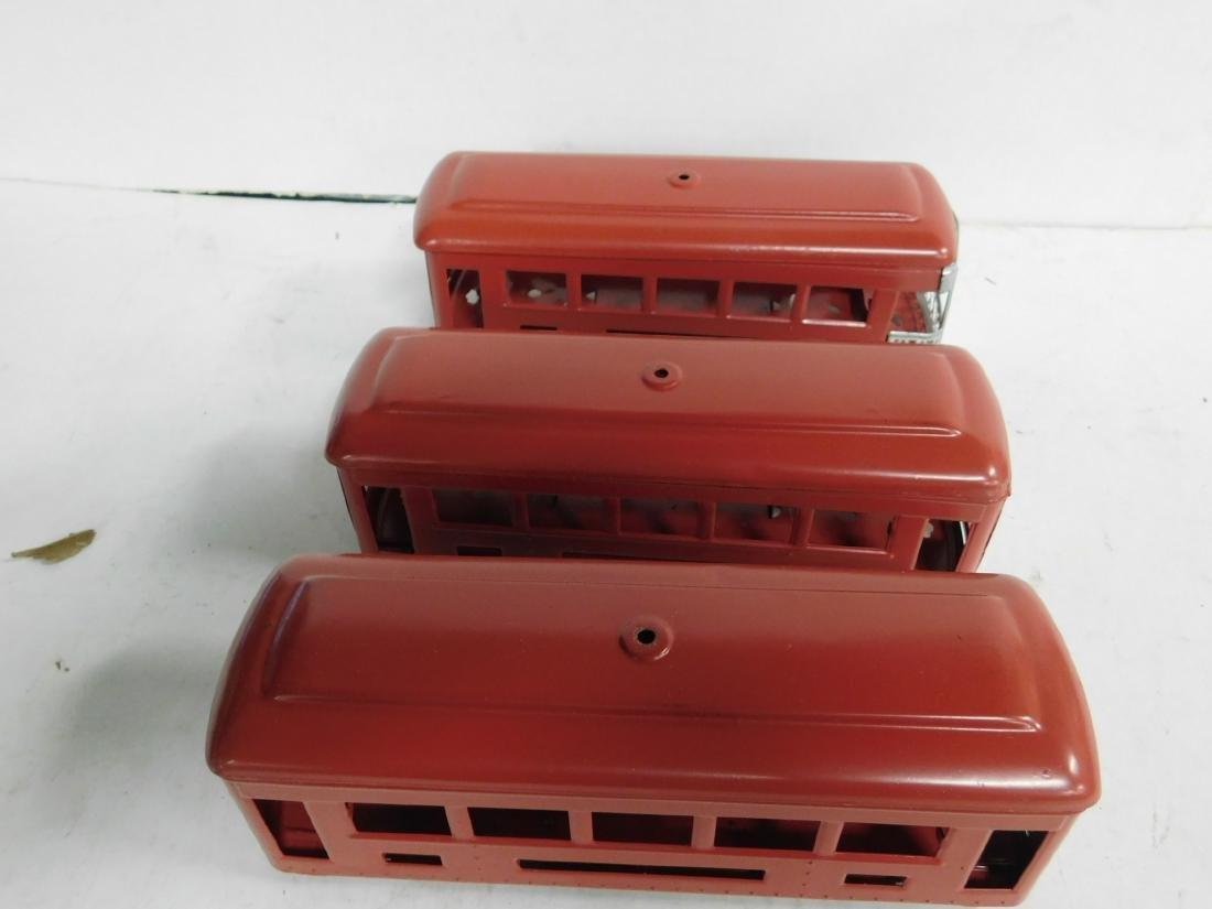 3 Lionel Prewar Train Car Bodies Only - 3
