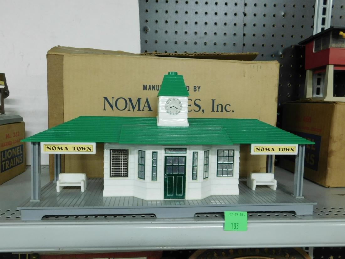 Noma Announcing Railroad Station