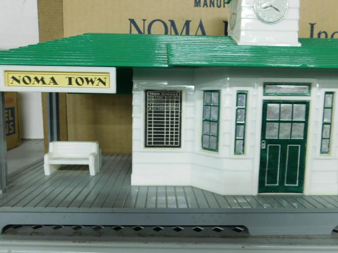 Noma Announcing Railroad Station - 2