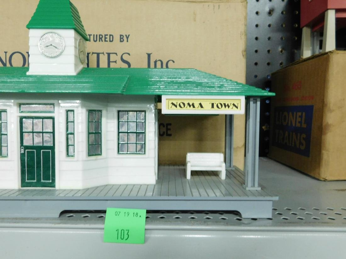 Noma Announcing Railroad Station - 3