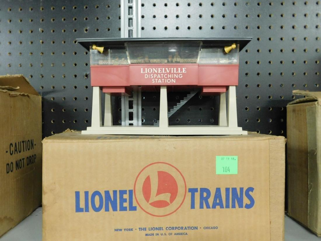 Lionel Postwar Sound Dispatching Station