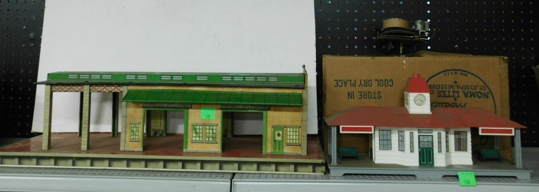 2 Vintage Train Stations