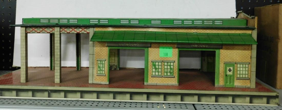 2 Vintage Train Stations - 2