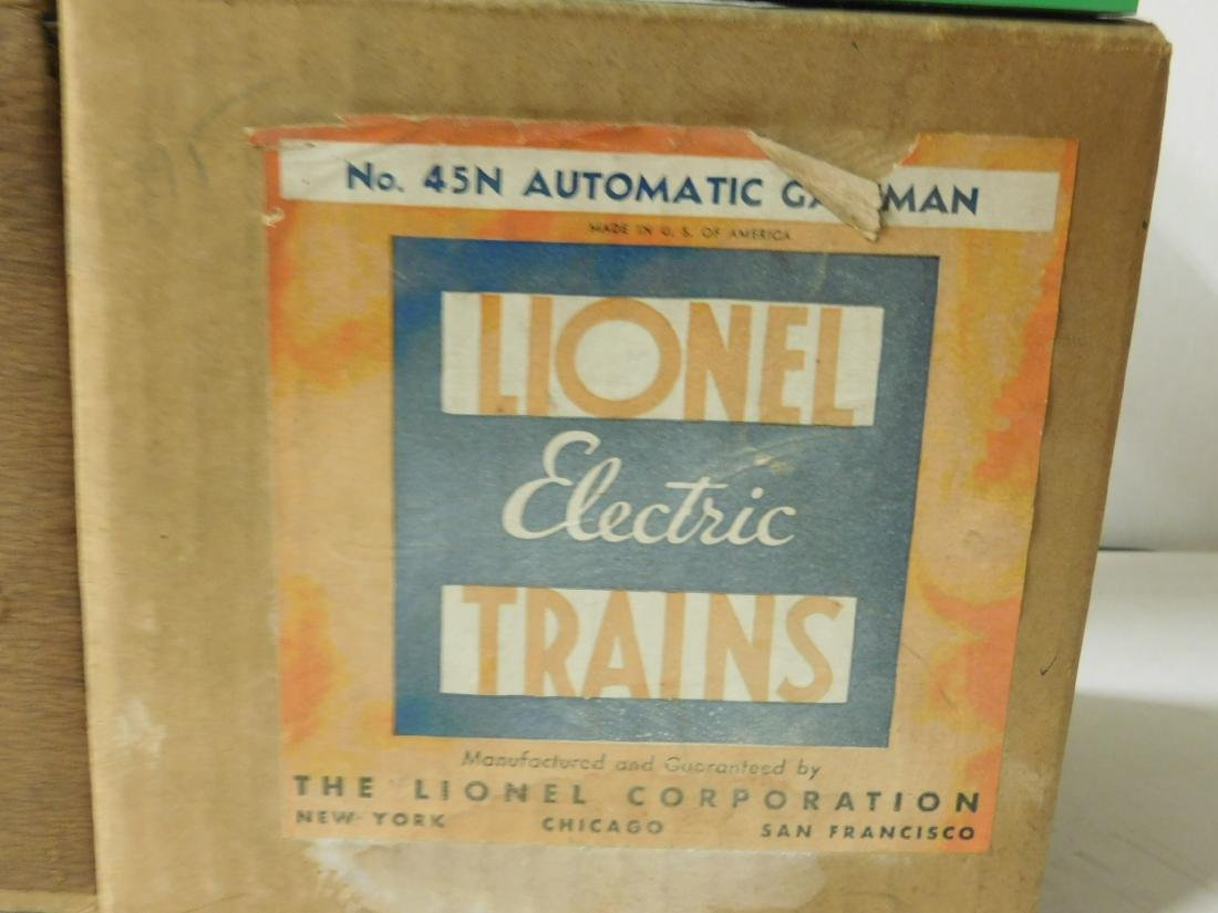 2 Postwar Automatic Gateman in Original Box - 3