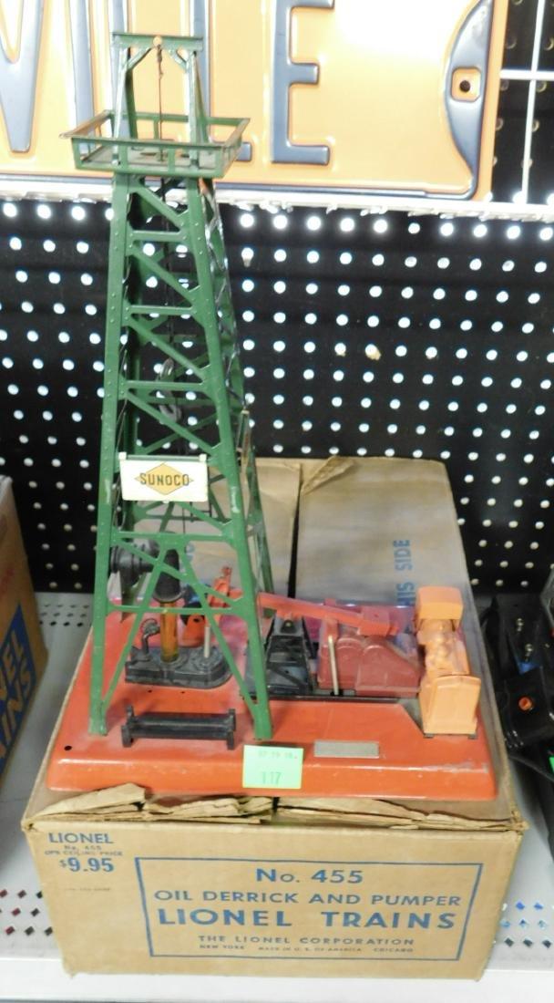 Vintage Lionel Oil Derrick & Pumper