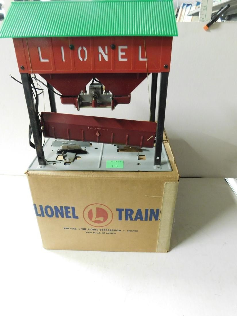 2 Postwar Lionel Mechanical Train Accessories