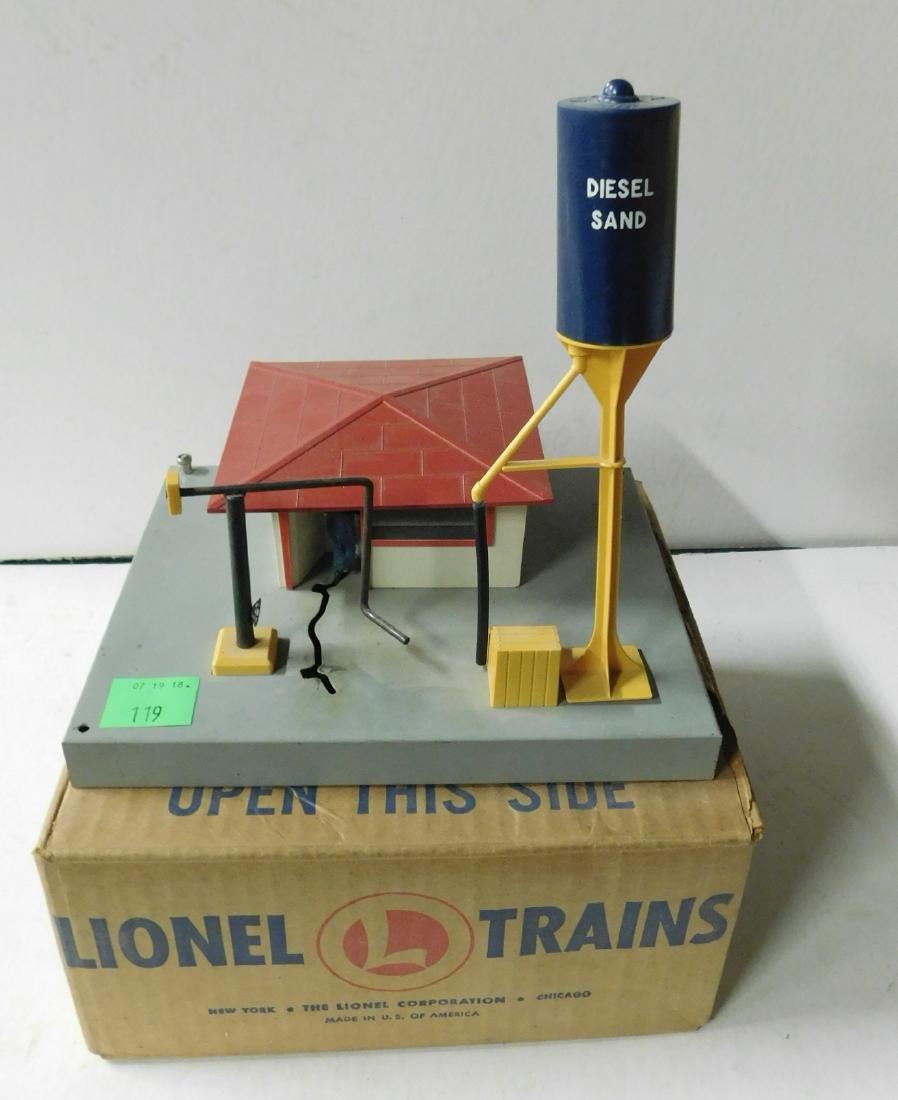 Vintage Lionel Diesel Fueling Station