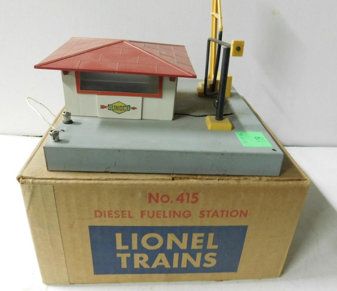 Vintage Lionel Diesel Fueling Station - 4
