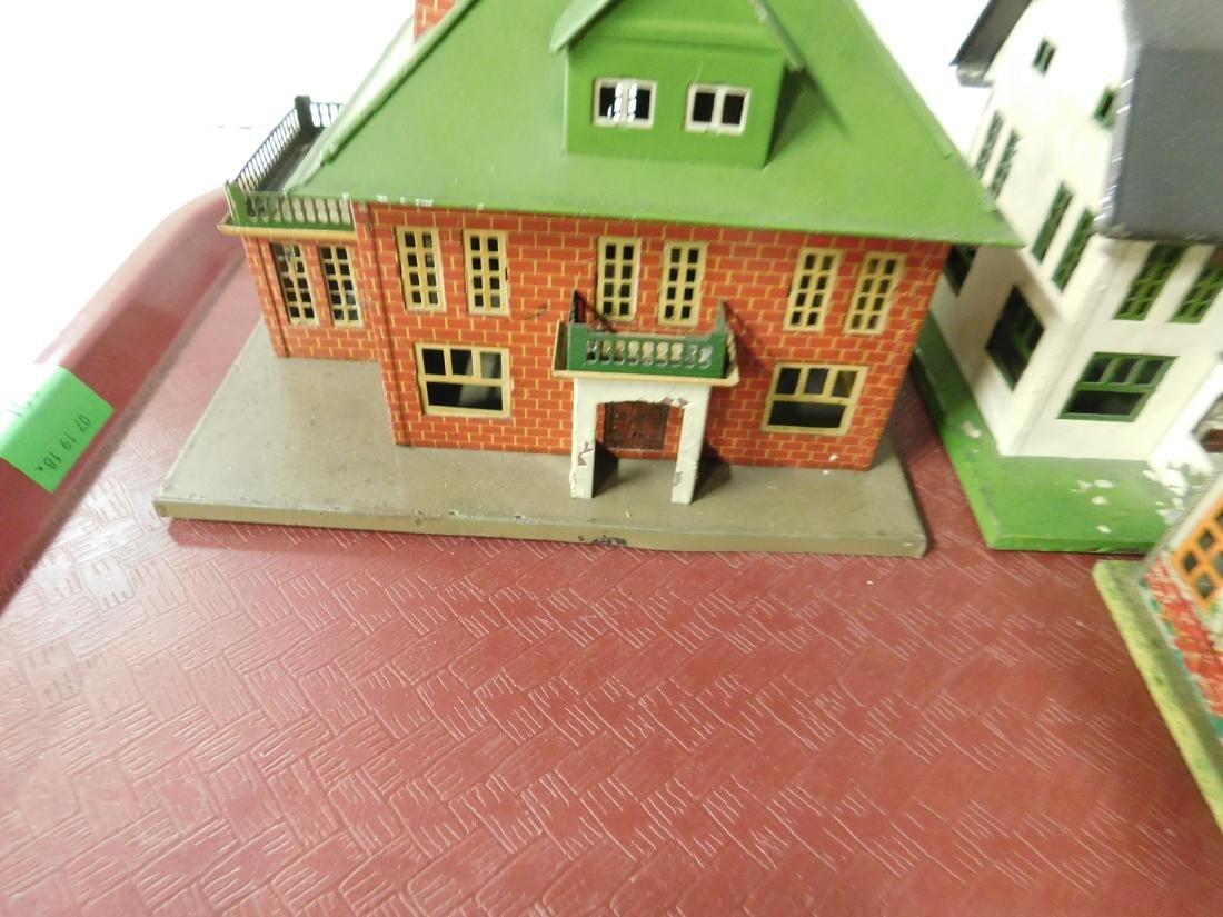 4 Lionel Tin Litho Buildings - 2