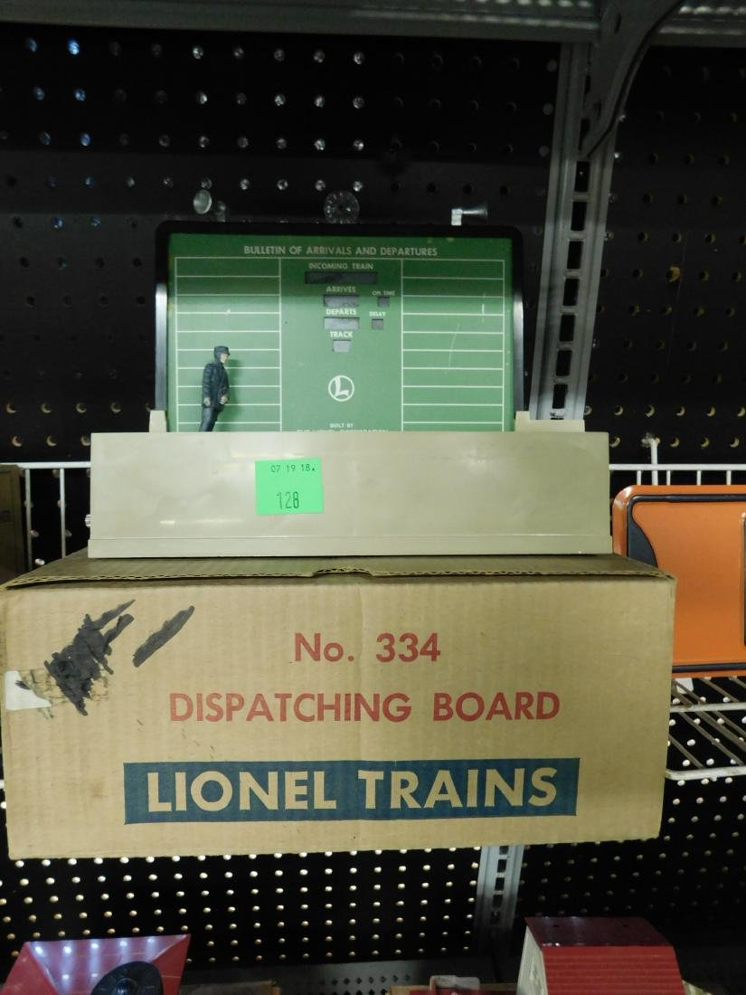 Postwar Lionel Dispatching Board in Box