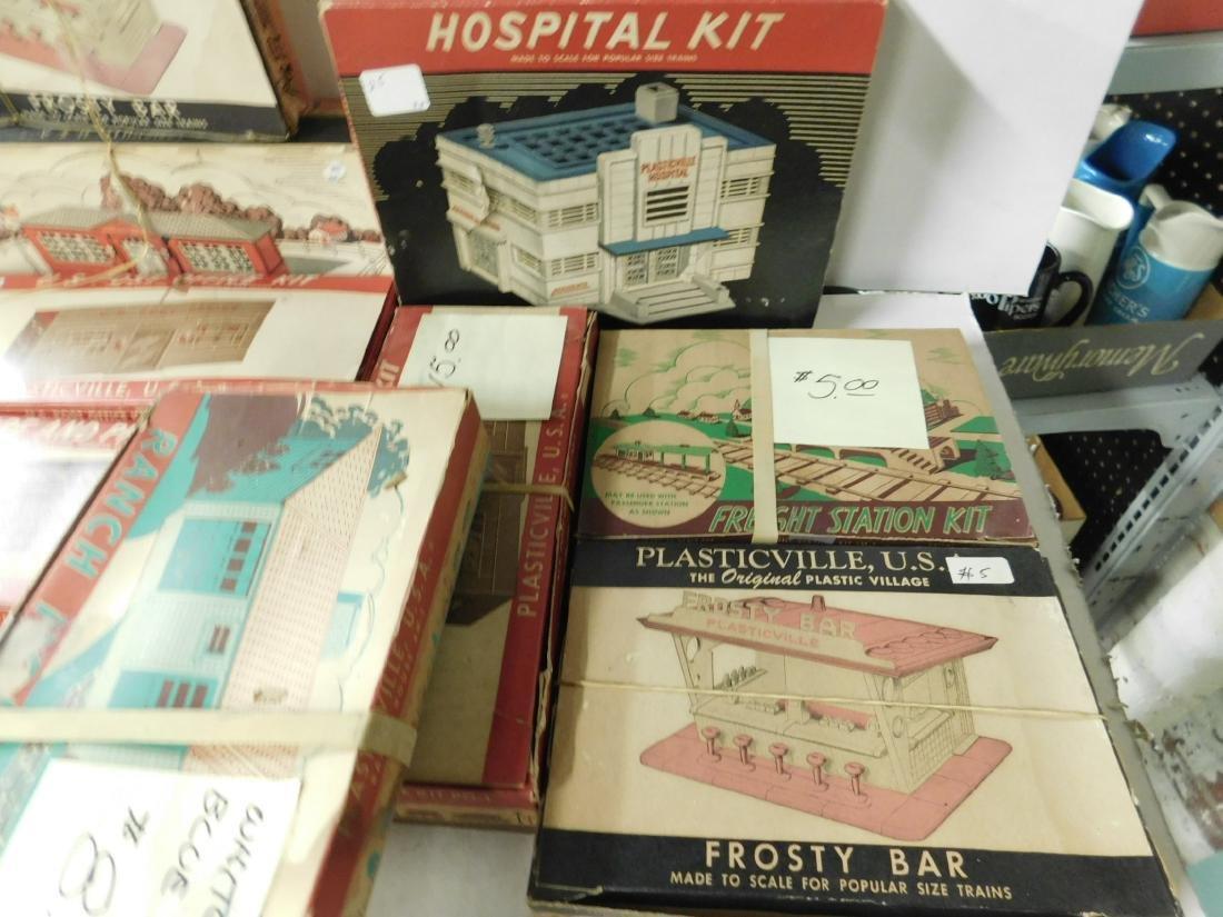 Lot Vintage Plasticville Buildings - 2