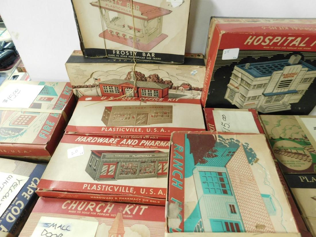 Lot Vintage Plasticville Buildings - 3