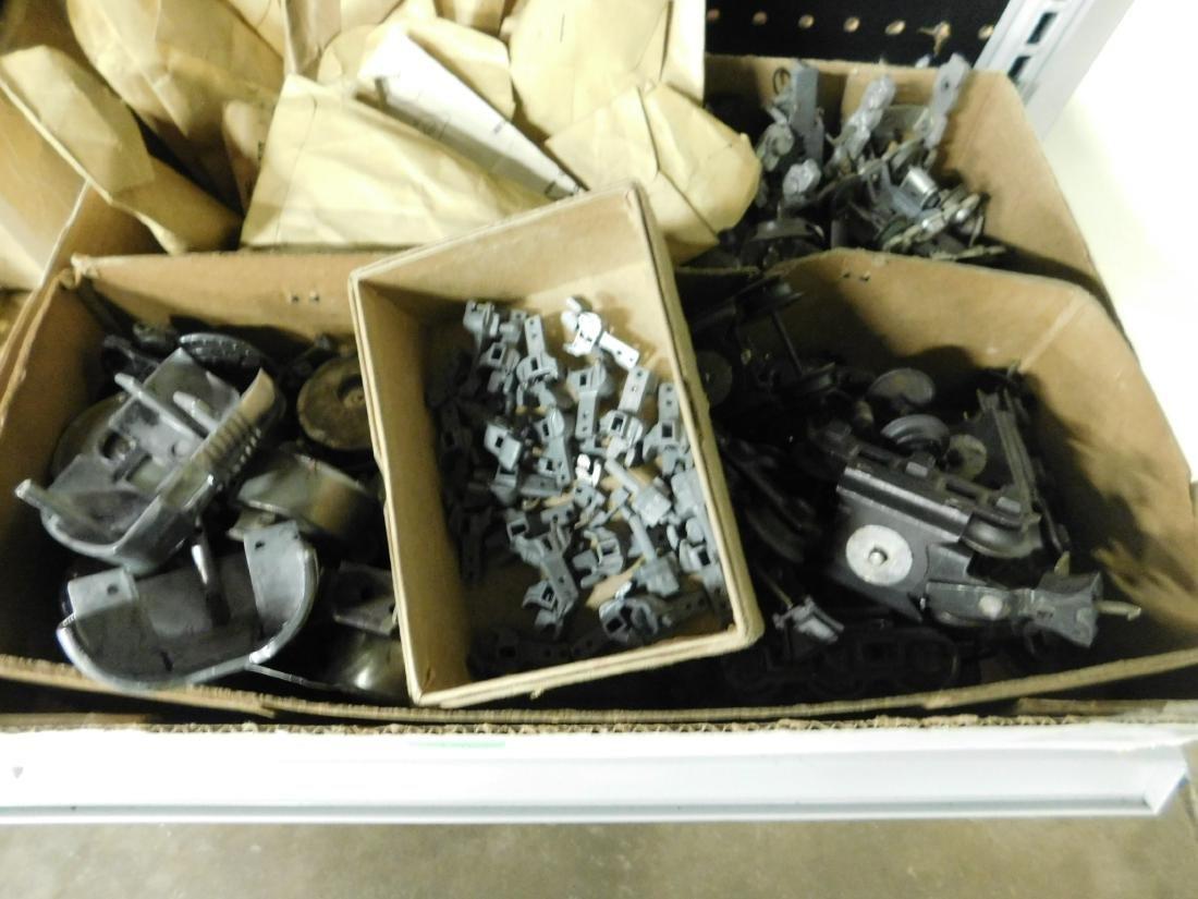 Large Lot Train Engine & Car Parts