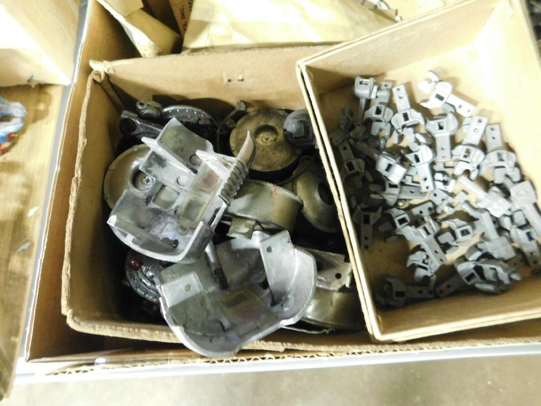 Large Lot Train Engine & Car Parts - 3