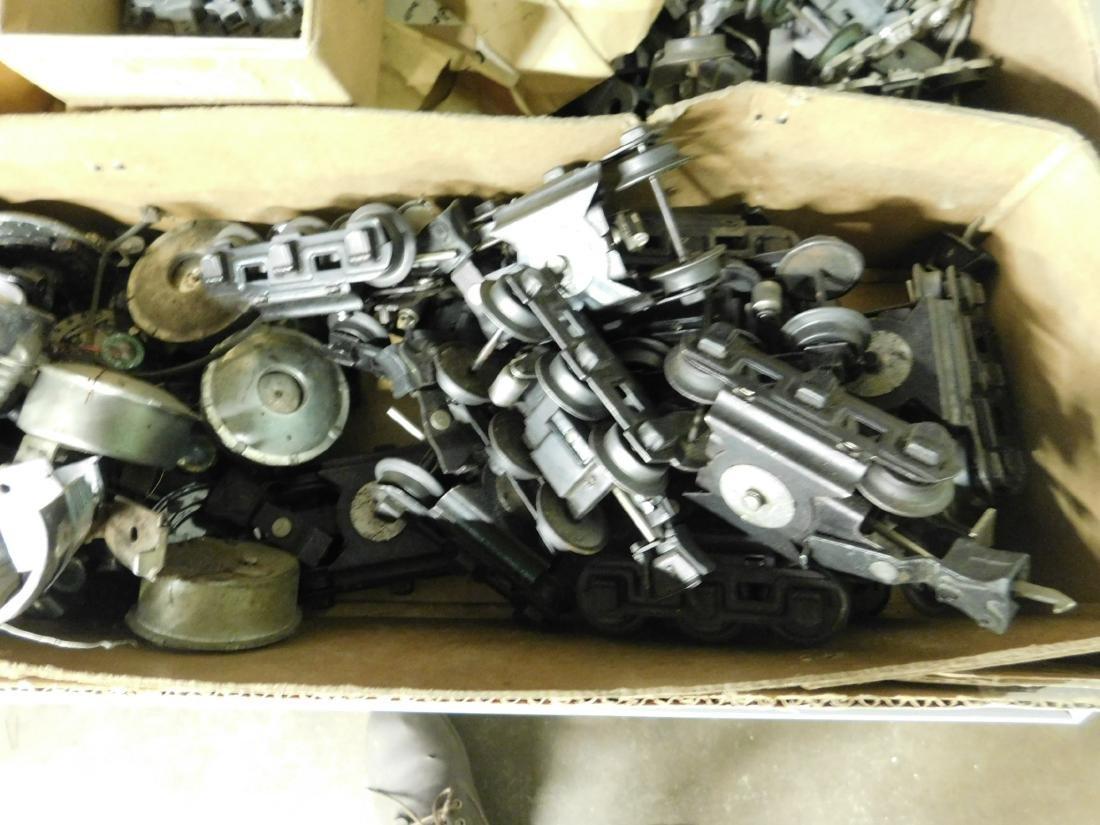 Large Lot Train Engine & Car Parts - 4