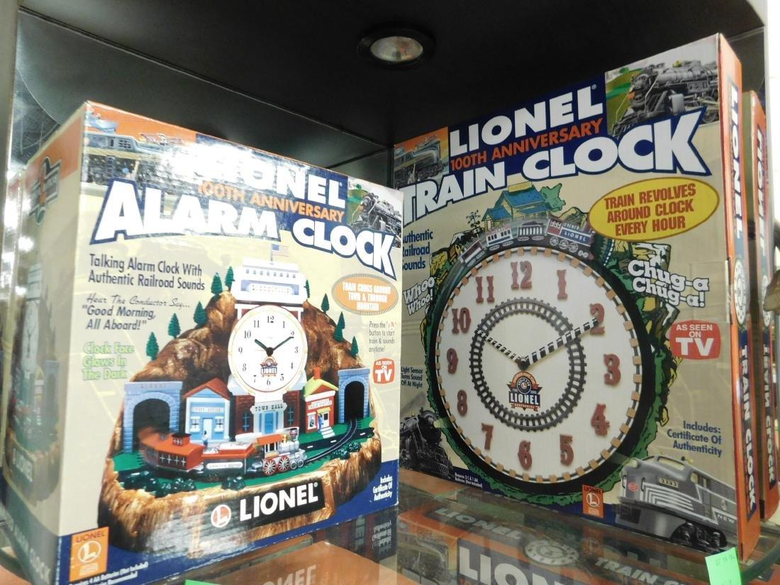 Lionel Coin Sorter Alarm Clock & 2 Train Clocks