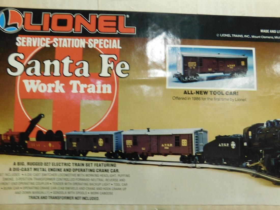 Lionel Santa Fe Work Train NIB