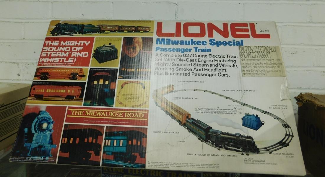 Lionel 0-2-7 Gauge Milwaukee Special Train Set