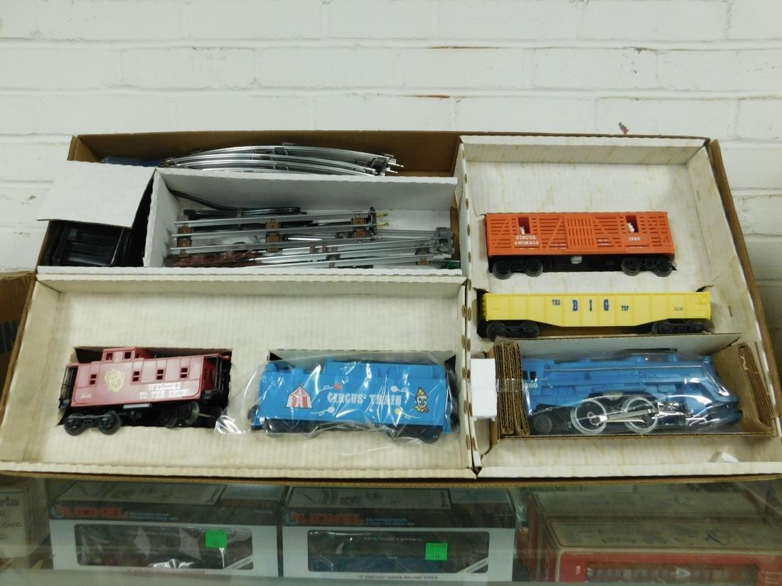 Lionel Circus Train Set