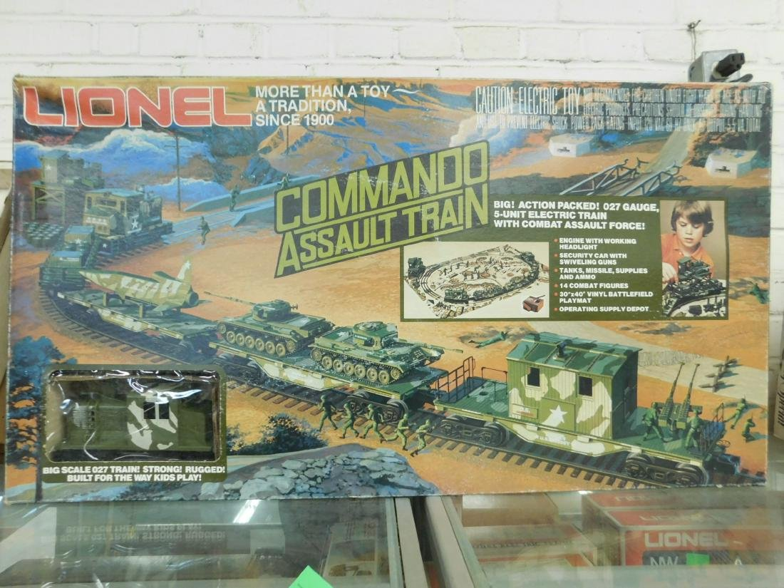 Lionel Commando Assault Train Set