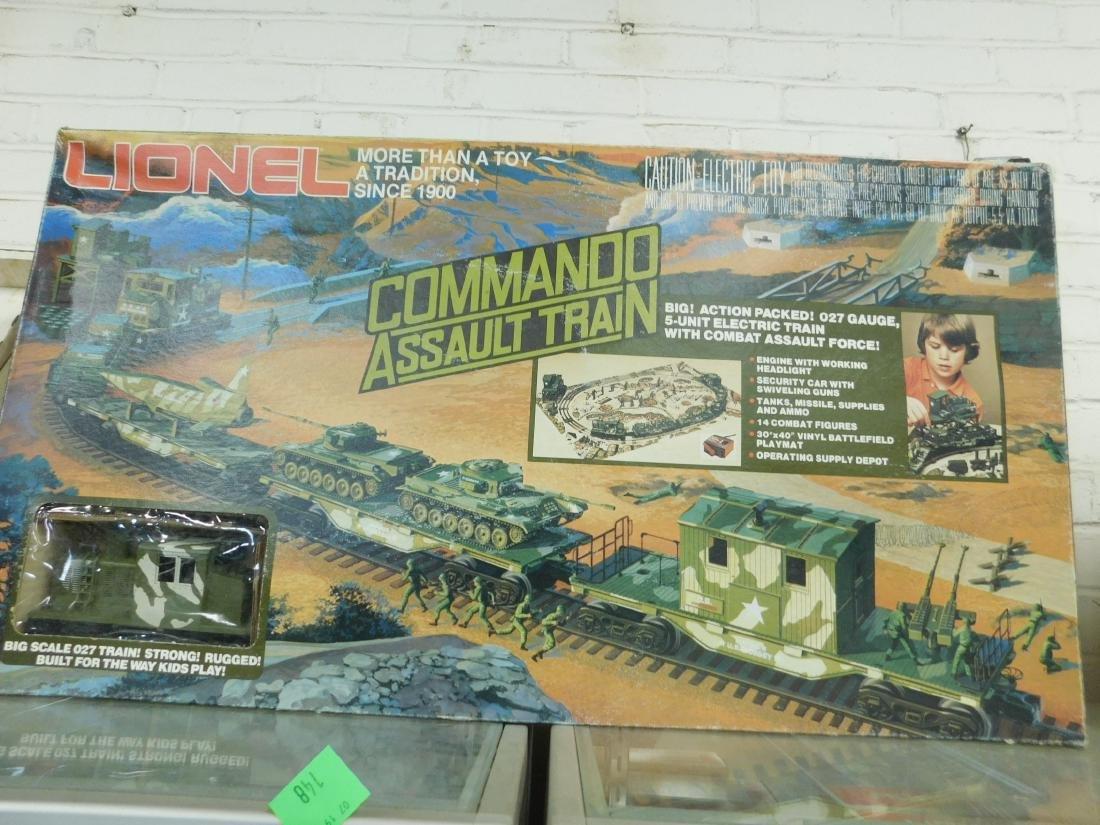 Lionel Commando Assault Train Set - 3