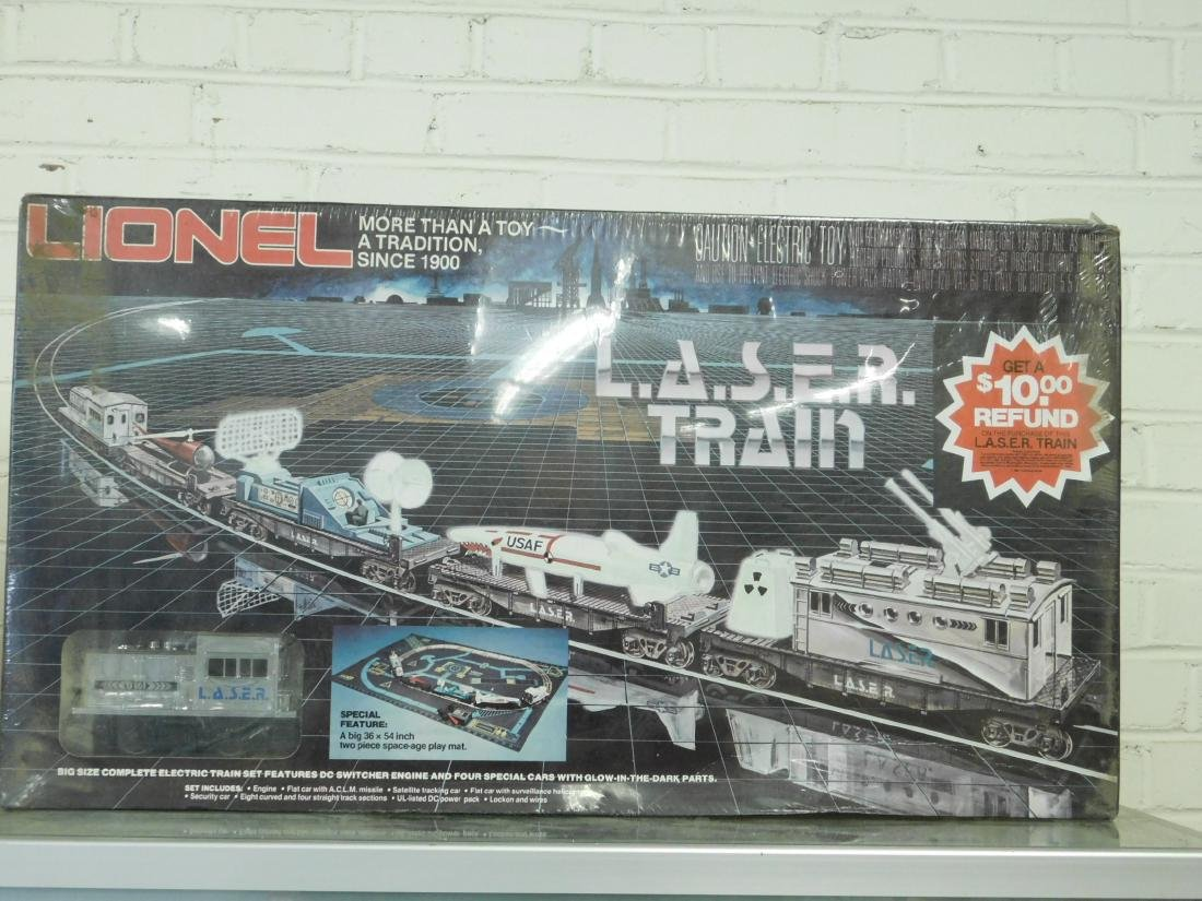 Lionel L.A.S.E.R. Electric Train Set