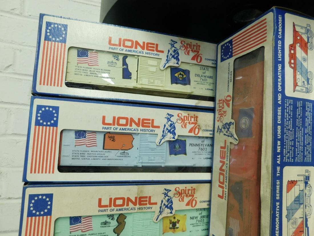 12 Lionel Spirit of '76 Box Cars - 2