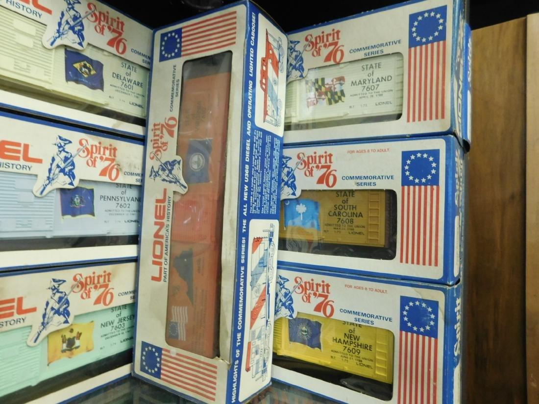 12 Lionel Spirit of '76 Box Cars - 3
