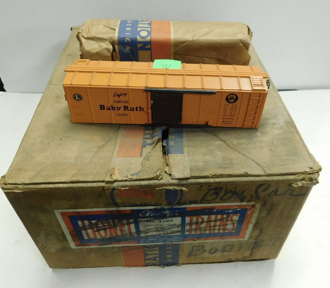 9 Lionel Baby Ruth Box Train Car Bodies