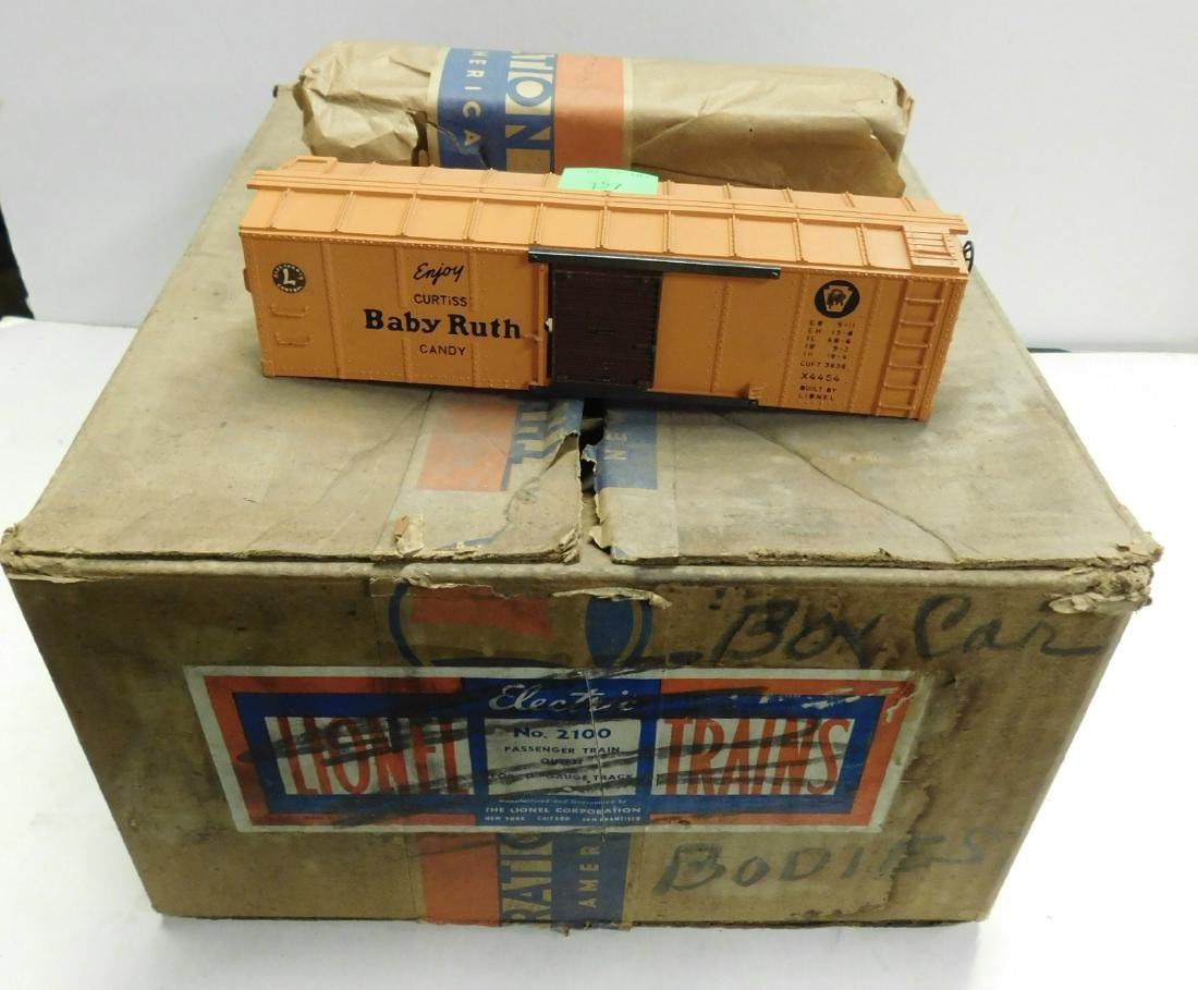 9 Lionel Baby Ruth Box Train Car Bodies - 2