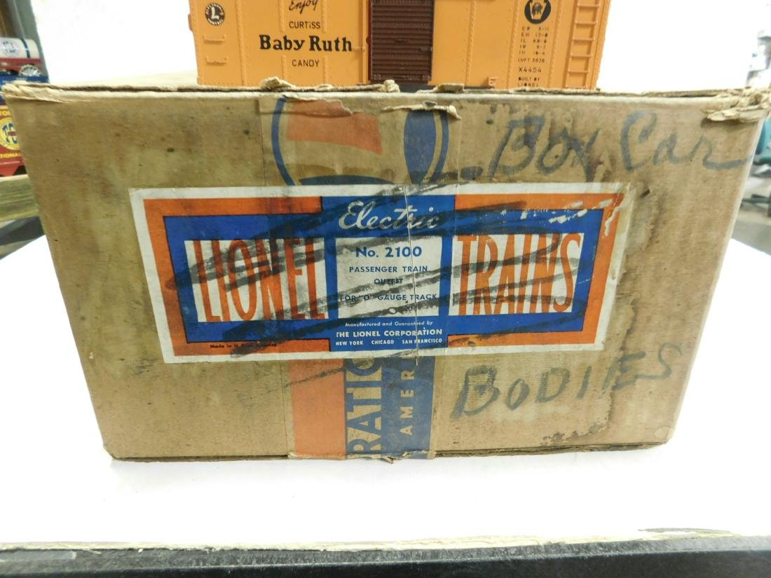 9 Lionel Baby Ruth Box Train Car Bodies - 4