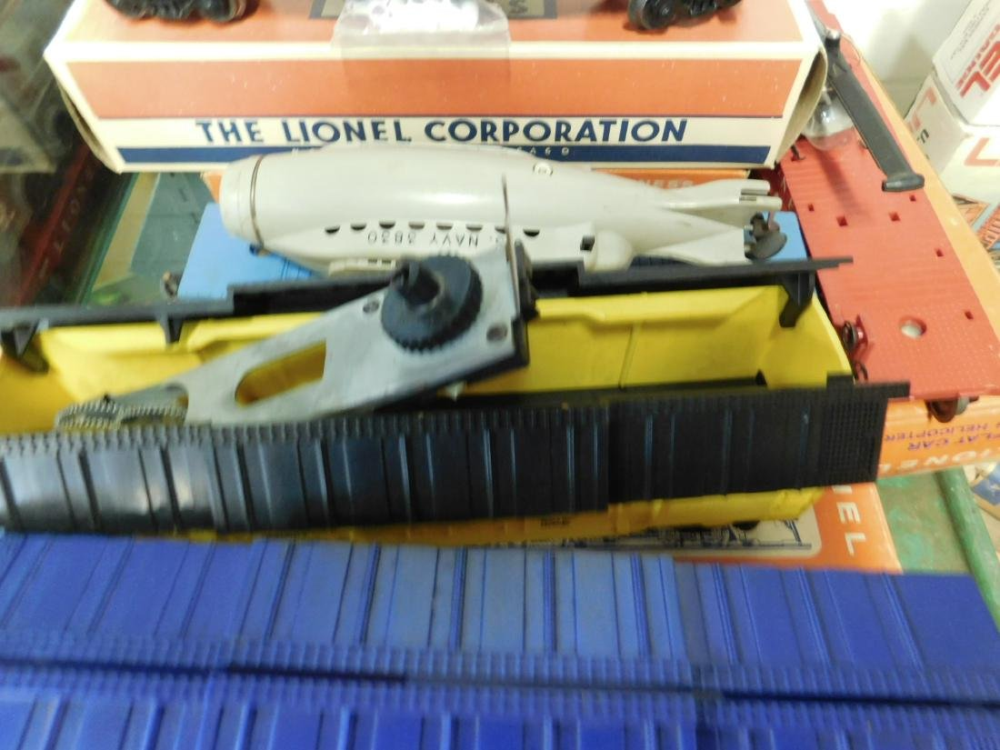 Lot Lionel Space Military Train Cars - 3