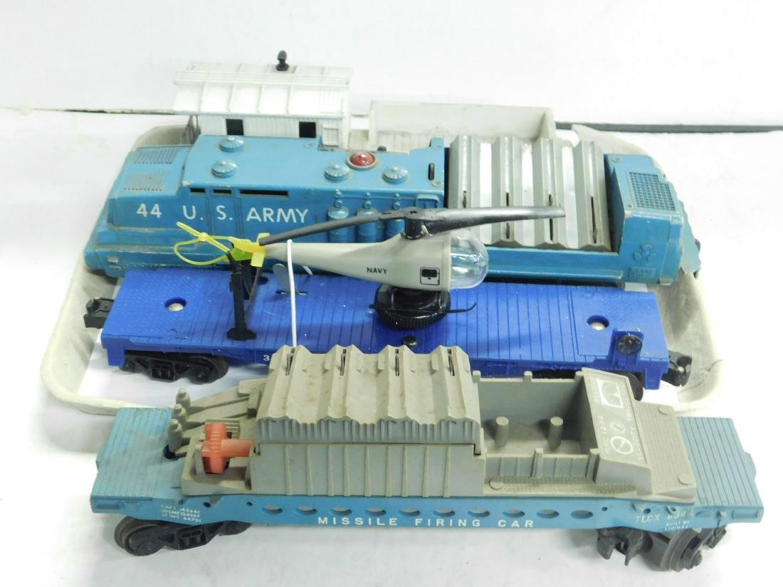 Lionel Postwar 44 US Army Engine & Cars