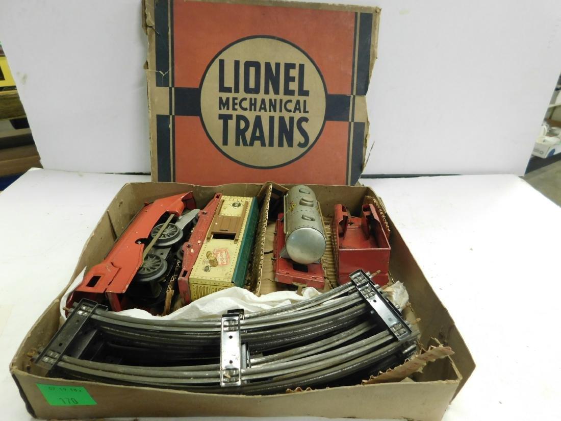 Lionel Prewar Tin Wind Train Set - 5