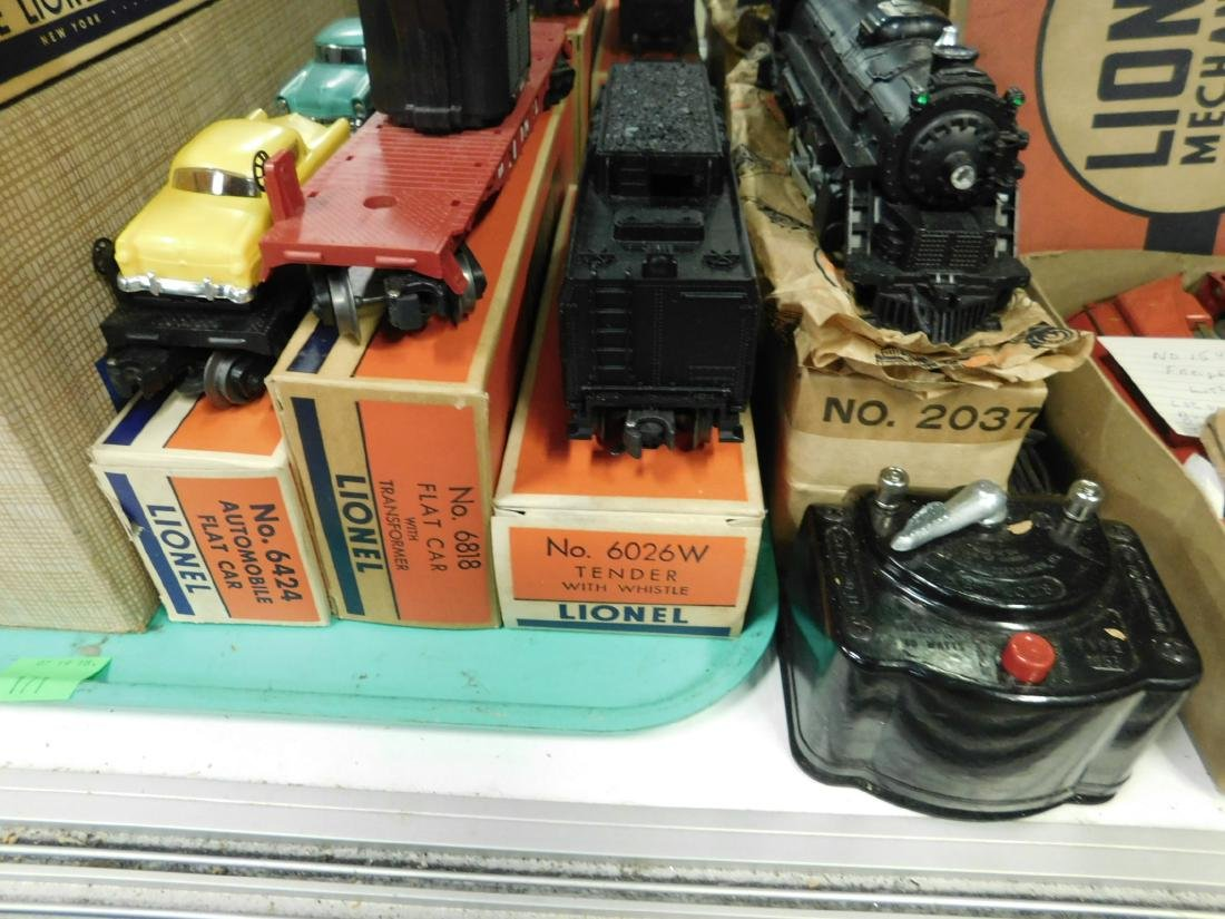 Lionel Postwar Engine, Tender & Cars w/Boxes - 5