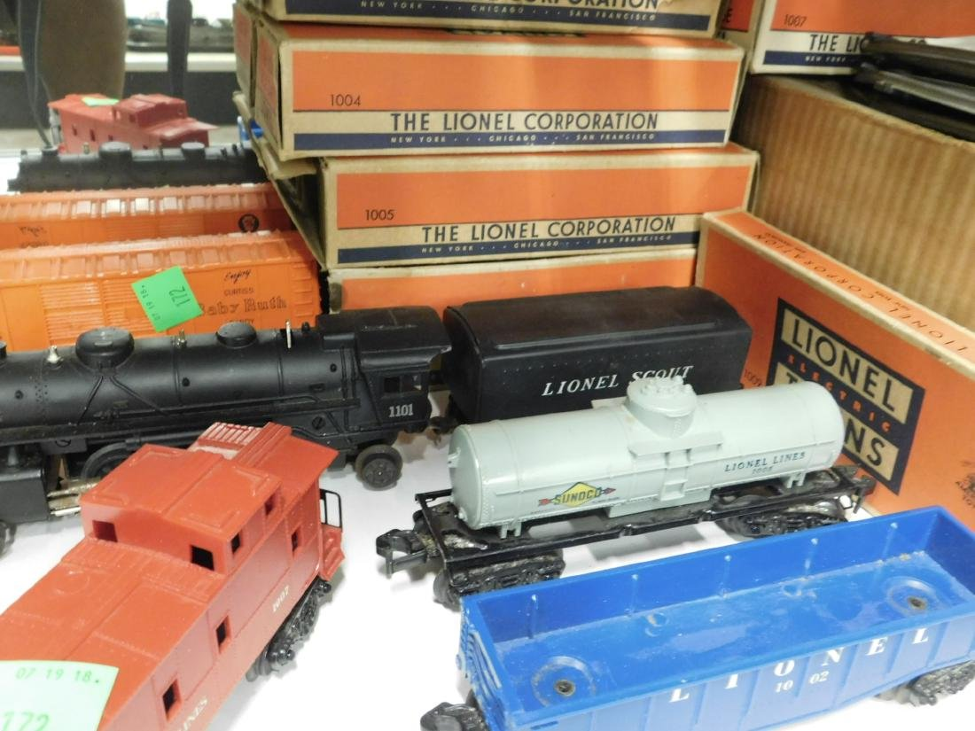 """Lionel """"Scout Freight Train Outfit"""" - 3"""