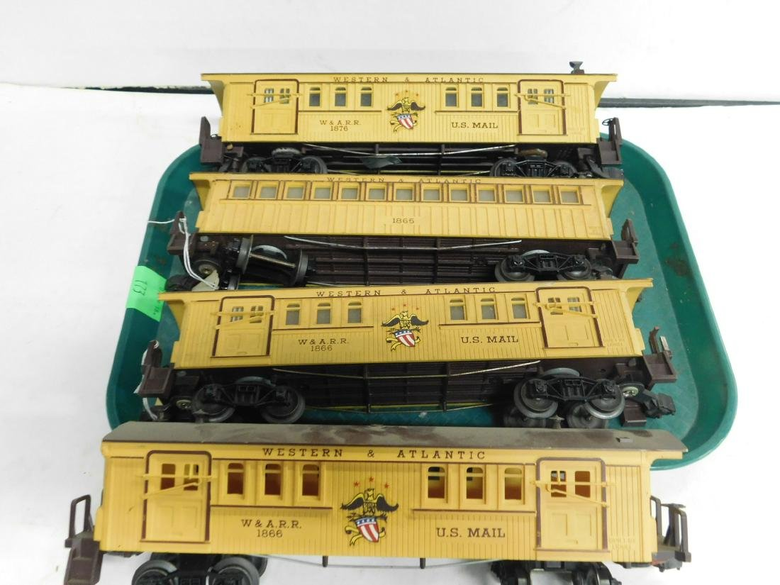 2 Lionel Western & Atlantic 2 Piece Train Set