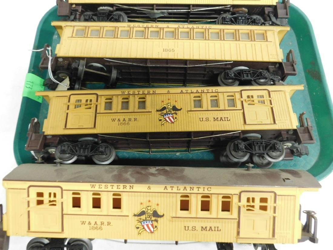 2 Lionel Western & Atlantic 2 Piece Train Set - 2