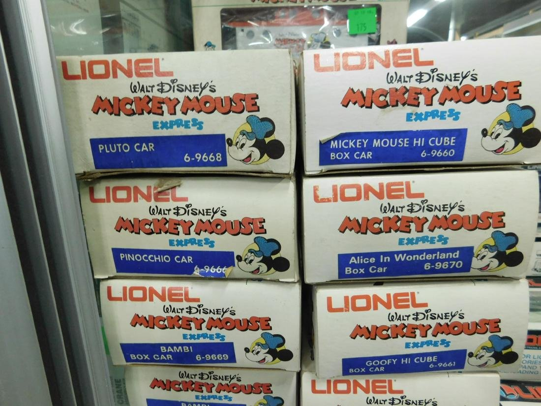 13 Lionel Mickey Mouse Express Character Cars - 3