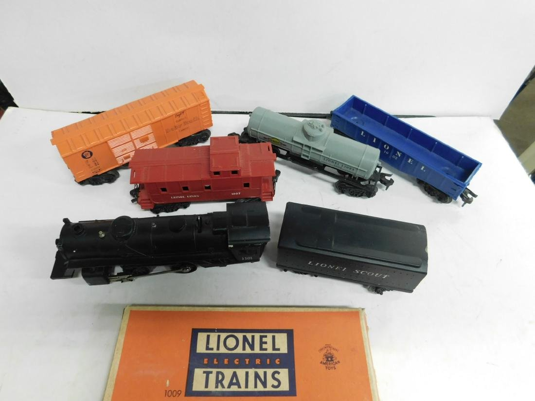 "Lionel ""Scout"" Freight Train Set"