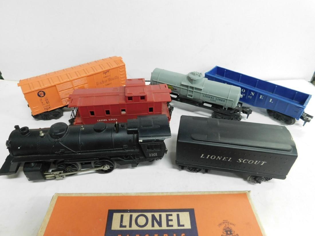 "Lionel ""Scout"" Freight Train Set - 2"