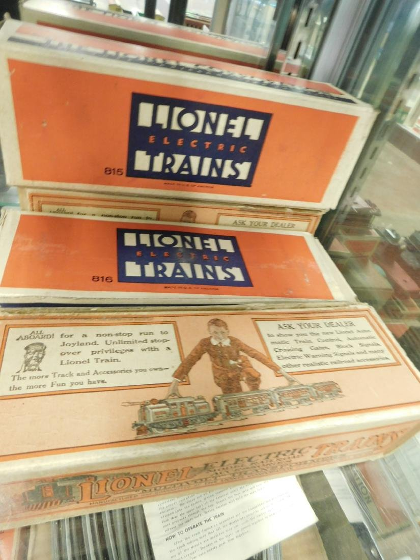 4 Lionel O Gauge Train Cars w/Original Boxes - 6