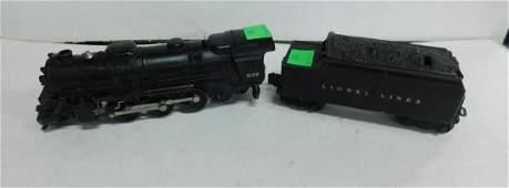Lionel 637 Steam Engine & Tender