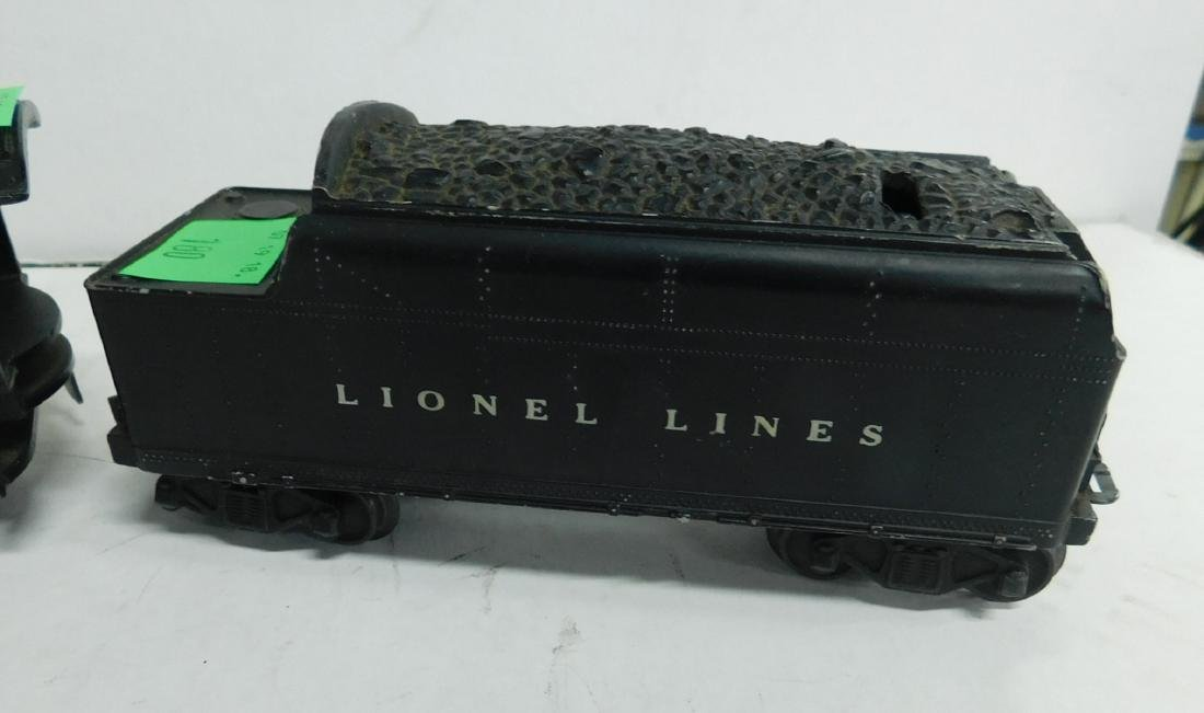 Lionel 637 Steam Engine & Tender - 2