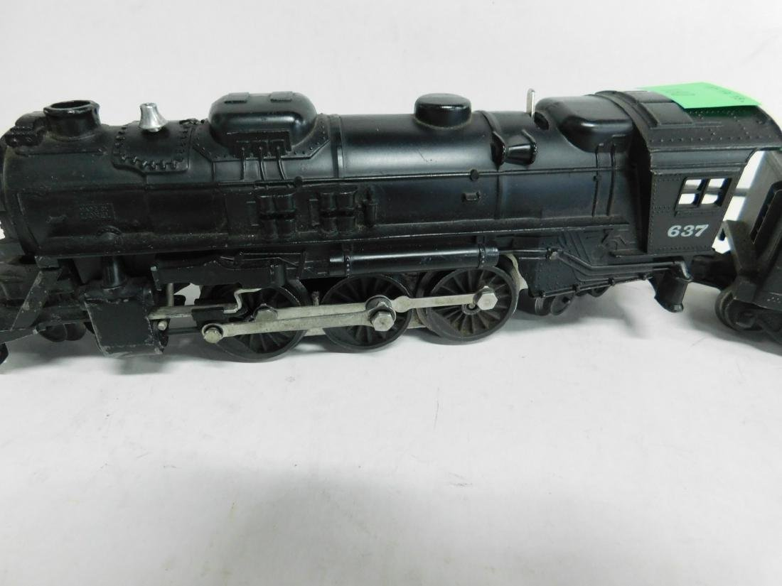 Lionel 637 Steam Engine & Tender - 3